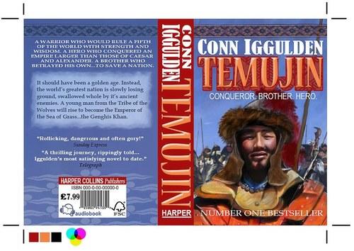 Book Cover Design-Temujin