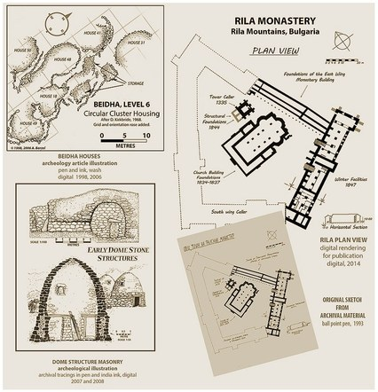 Archaeological and Architectural Drawings