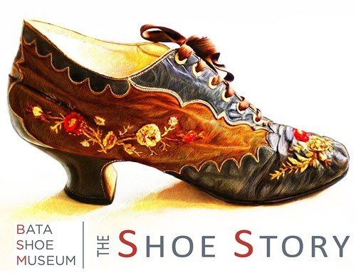 Bata Shoe Museum Poster and Magazine Ad