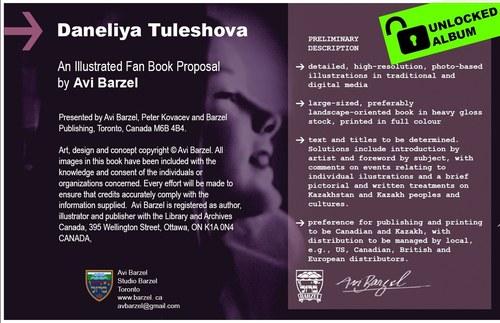 Daneliya Tuleshova Book Proposal
