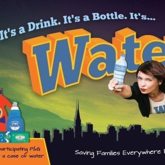 P&G: Bottled Water Promotion (Humor)