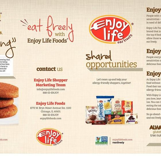 Enjoy Life Foods (Email/Brochure)