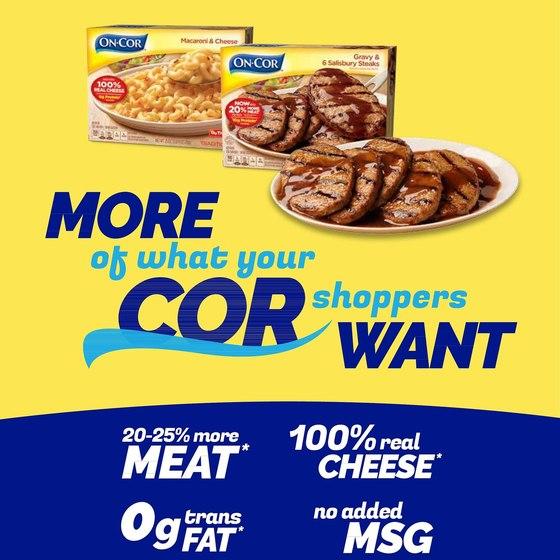 On-Cor Frozen Foods (TV/Print/Digital)