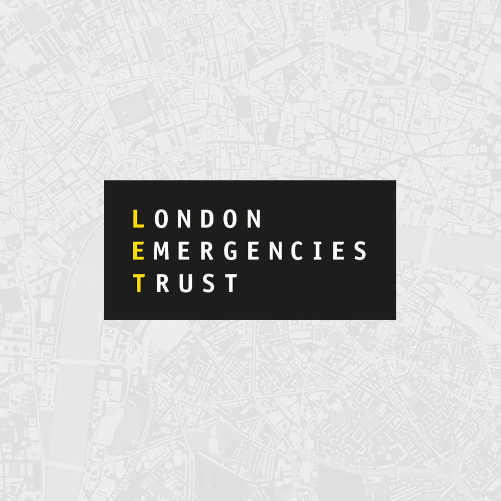 London Emergencies Trust Brand Identity