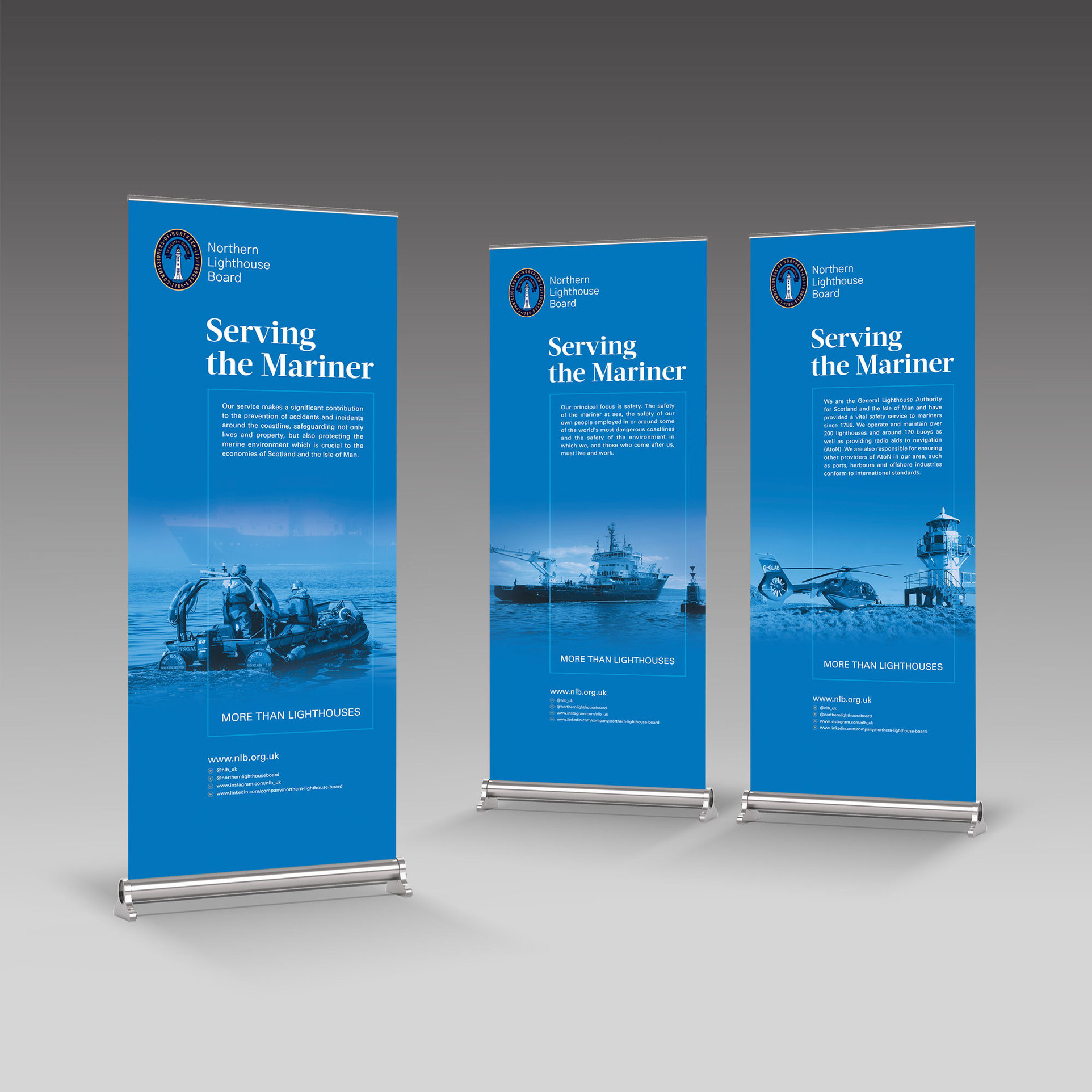 Northern Lighthouse Board – design for print