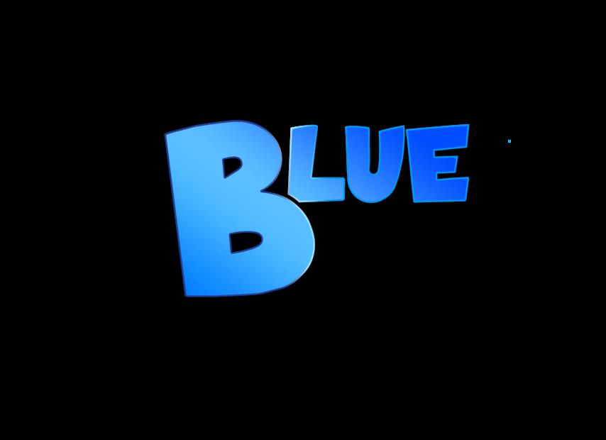 Blunder Blue Game Art