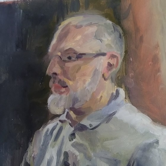Portraits and Studies made at the South Sefton Artists Group April 2021-
