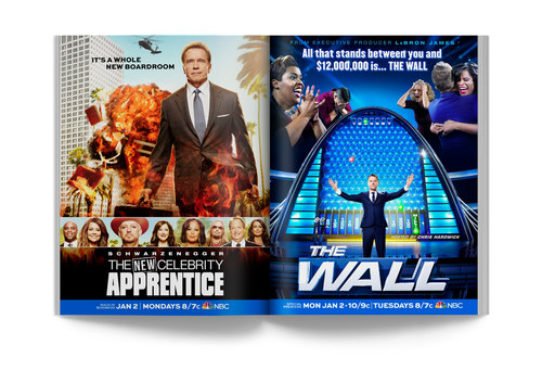 Celebrity Apprentice/The Wall | Spread Ad