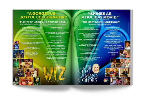 The Wiz/Coat of Many Colors | Spread Ad
