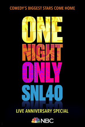 SNL | 40th Anniversary Special Poster