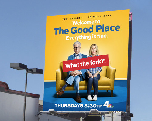 The Good Place Season 1 | 26 x 24 Premium Square