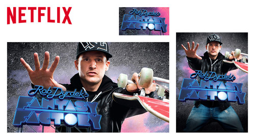 Netflix Website Show Images | Rob Dyrdek's Fantasy Factory