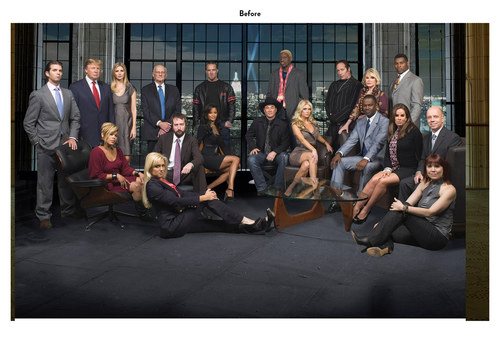 The Celebrity Apprentice, Season 2 | NBC Show Key Art (Before)