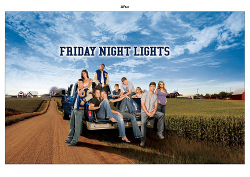 Friday Night Lights | NBC Show Key Art (After)