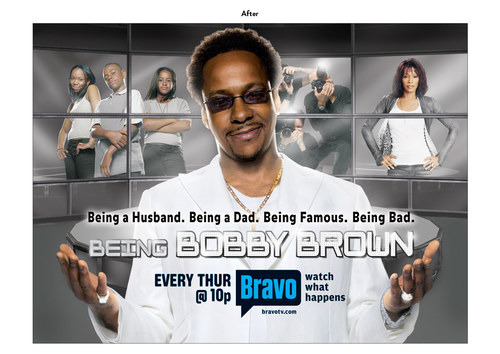 Being Bobby Brown | Bravo Show Key Art (After)