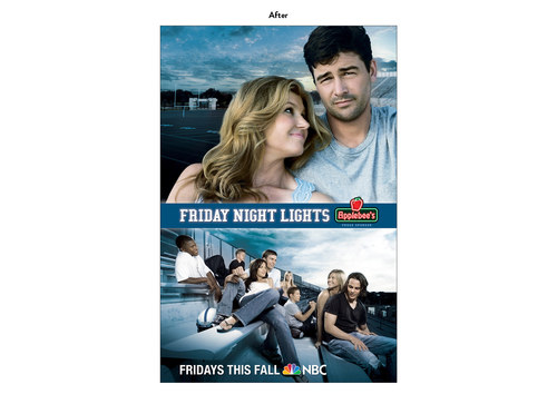 Friday Night Lights | NBC Show Poster Art (After)