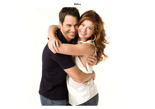 Will & Grace - Eric & Debra | NBC Emmy Mailer Art (Before)