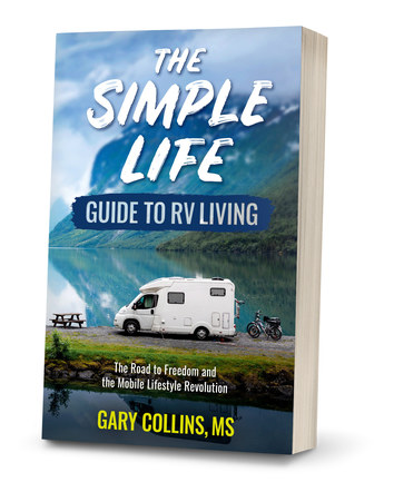 The Simple Life Guide to RV Living | Paperback Cover Design