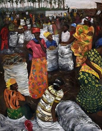 Marketplace in Goma