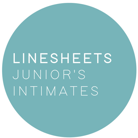 linesheets: junior's intimates