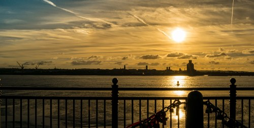 Sunset from Liverpool