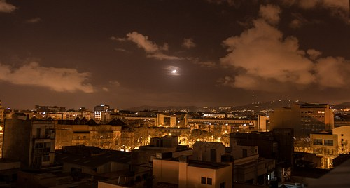 Nightscape from Barcelona