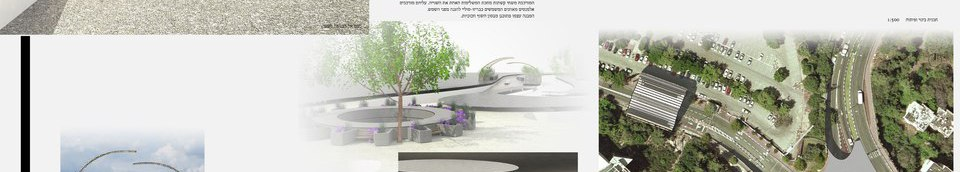 Competition Proposal,New entrance, Technion, Haifa, Israel