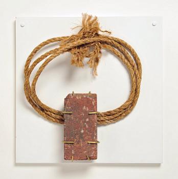 Art: Brick Like A House, Brass Like A Bed, Rope Like A Noose, 2011