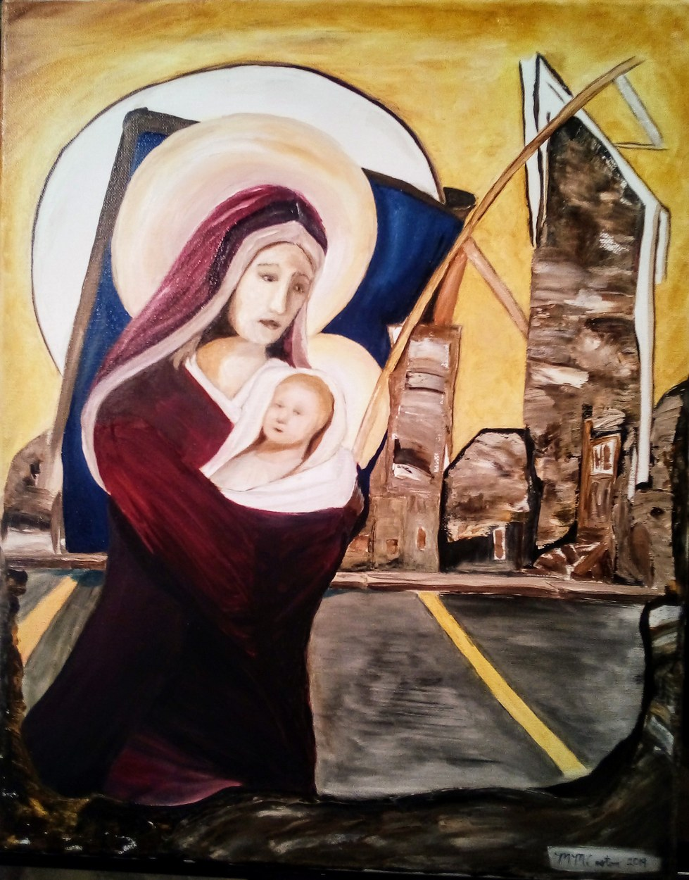 Madonna and Child in a Modern Context
