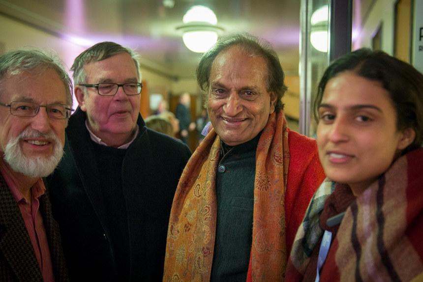 Raghu Rai and Avani Rai, Docpoint 2018